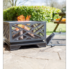 """Art Deco"" Style Fire Pit in situ"