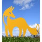 Contemporary Fox in Yellow Finish