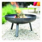 60cm Curved Firpit Burning Wood