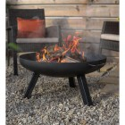 Contemporary Firepit in Situ in the Garden