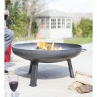 Curved sides on the side of the Fire Pit