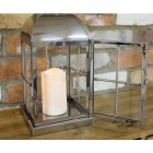 Contemporary Windowed Candle Holder