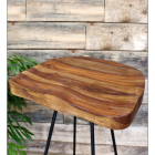 Wooden Top of the Stool