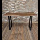 Wood & Iron Large Table