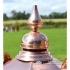 Close-up of the Copper Finial on the Lantern