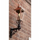 Victorian Wall light in Copper in Situ
