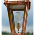 Edison Bulb holder in the Lantern (Available Upon Request)