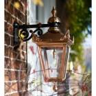 Copper Victorian Top Fix Wall Light