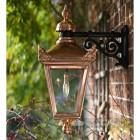 Copper Victorian Top Fix Wall Light