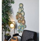 Coral Wall Art in a Modern Sitting Room