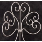 """""""Evelyn Grace"""" Wrought Iron Heart Back Chair"""