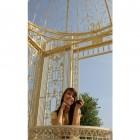The LUXURY Royal Alexandria Wrought Iron Pavilion