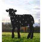 Black Lamb Silhouette