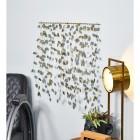 Dangling Leaves Wall Art in Situ in the Living Room