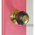 Door Knobs In Fine Hand Turned Ebony Wood Pevonsey