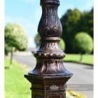 Decorative Antique Copper Lamp Post Column