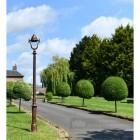 Deluxe Antique Copper Lamp Post