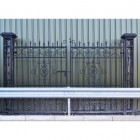 """""""Cempbell Court"""" Deluxe Driveway Entrance Gates"""