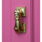 Polished Brass Hand Door Knocker