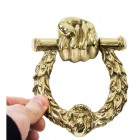 Fist And Laurel Door Knocker