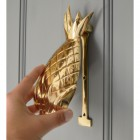 Polished Brass Pineapple Door Knocker