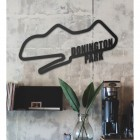 Donington Park Racing Circuit Wall Art in Situ in a an Office