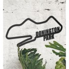 Donington Park Racing Circuit Wall Art Next to plants in the Home