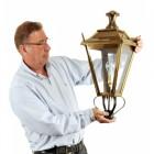 Dorchester Brass Wall Lantern