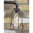 """Oskar"" Industrial-Style Pipe Table Lamp"