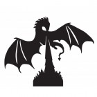 Dragon Weathervane Motif