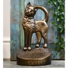 Beautiful novelty cat door stop