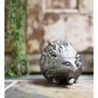 Polished Aluminium Hedgehog door stop