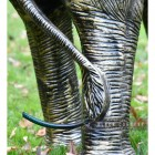 Close-up of the Detail on the Legs of the Elephant