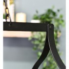 """Close-up of the Black Finish on the """"Ellesmere"""" Hanging Saucepan Rack"""