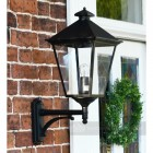 Exterior manor house wall light for gardens
