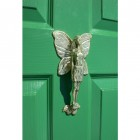 Polished Brass Flower Fairy Door Knocker