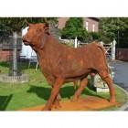 farm statue bull cow