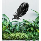 Feather Wall Art in Situ Outdoors