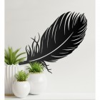 Feather Wall Art in Situ