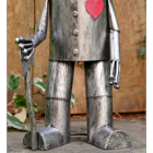 Feet of the Tin Man Garden Sculpture
