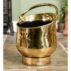 Blenheim Coal Bucket in Situ by the Fire Place