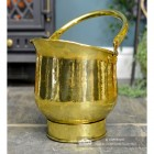 """Blenheim"" Coal Bucket Created From Brass"