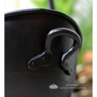 Carry Handles on the Side of the Coal Bucket