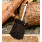 Modern brush for fireplace cleaning