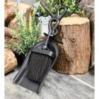 Black Malvern brush & pan set
