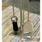 """Close-up of the tools on the """"The Sedgley"""" Stainless Steel Companion Set"""