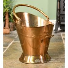 """""""Colnbrook Manor"""" Coal Bucket Finished in a Antique Brass"""