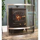 Modern Arched fire screen in living room