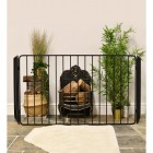 Traditional Black Nursery fire guard