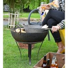 Kadai Fire Bowl Handmade From Iron